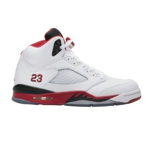 Retro Jordan 5 Fire Red (Men's Size 10)